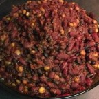 Slow Cook 3-Bean Chili (Vegetarian and Gluten-Free)