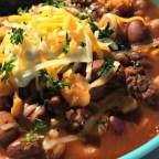 Slow Cooker Taco Bean Soup