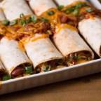 Beefy Broccoli & Cheddar Burritos