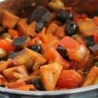 Eggplant and Tomato Caponata