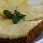 Ginger Lemon Cheesecake Bars