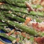 Parmesan-Panko Asparagus Spears