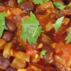 Spicy Vegetarian Black Beans (Fusion)