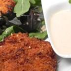 Asian Crab Cake Salad