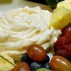 Lemony Cream Cheese Fruit Dip