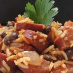 Martha's Spanish Rice and Sausage