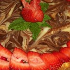 Amy's Marvelous Marbled Cheesecake