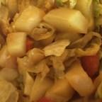 Ethiopian Cabbage and Potato Dish (Atkilt)