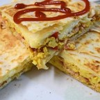 Cheesy Breakfast Quesadilla