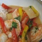 Shrimp Red Thai Curry