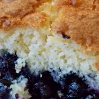 Mennonite Blueberry Cobbler