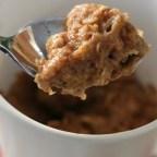 Microwaved Oatmeal Cookie Breakfast Cup