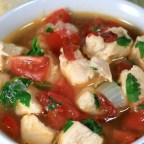 Chipotle Pepper and Chicken Soup
