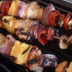 Orange Chicken Kabobs