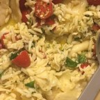 Ravioli with Cherry Tomatoes and Cheese