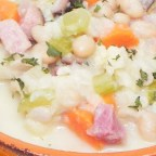 Creamy Ham and Bean Soup (Gluten Free)