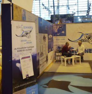 salon nautique paris expo porte versailles the sea cleaners yvan bourgnon