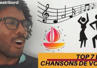 Chanson voile marin naviguer musique barreatribord