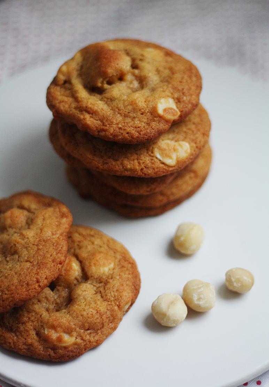Macadamiapähkinä-cookiet
