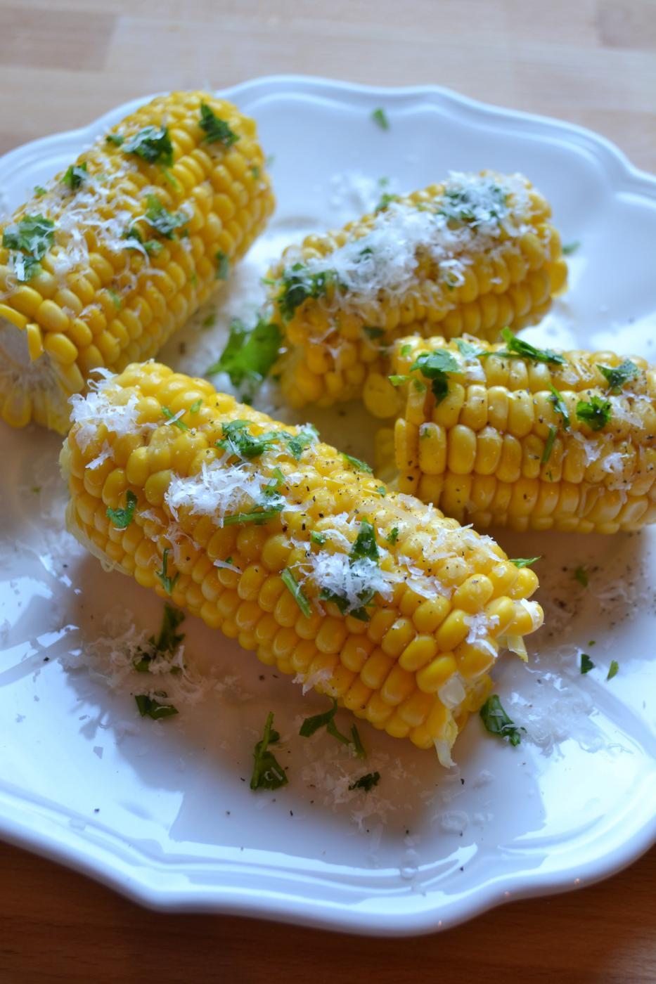 Lasten kasvattamat maissit päätyivät lautaselle
