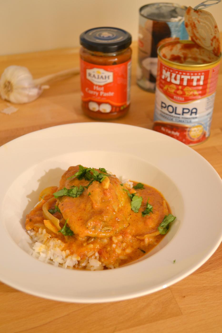 Curry-broileripata