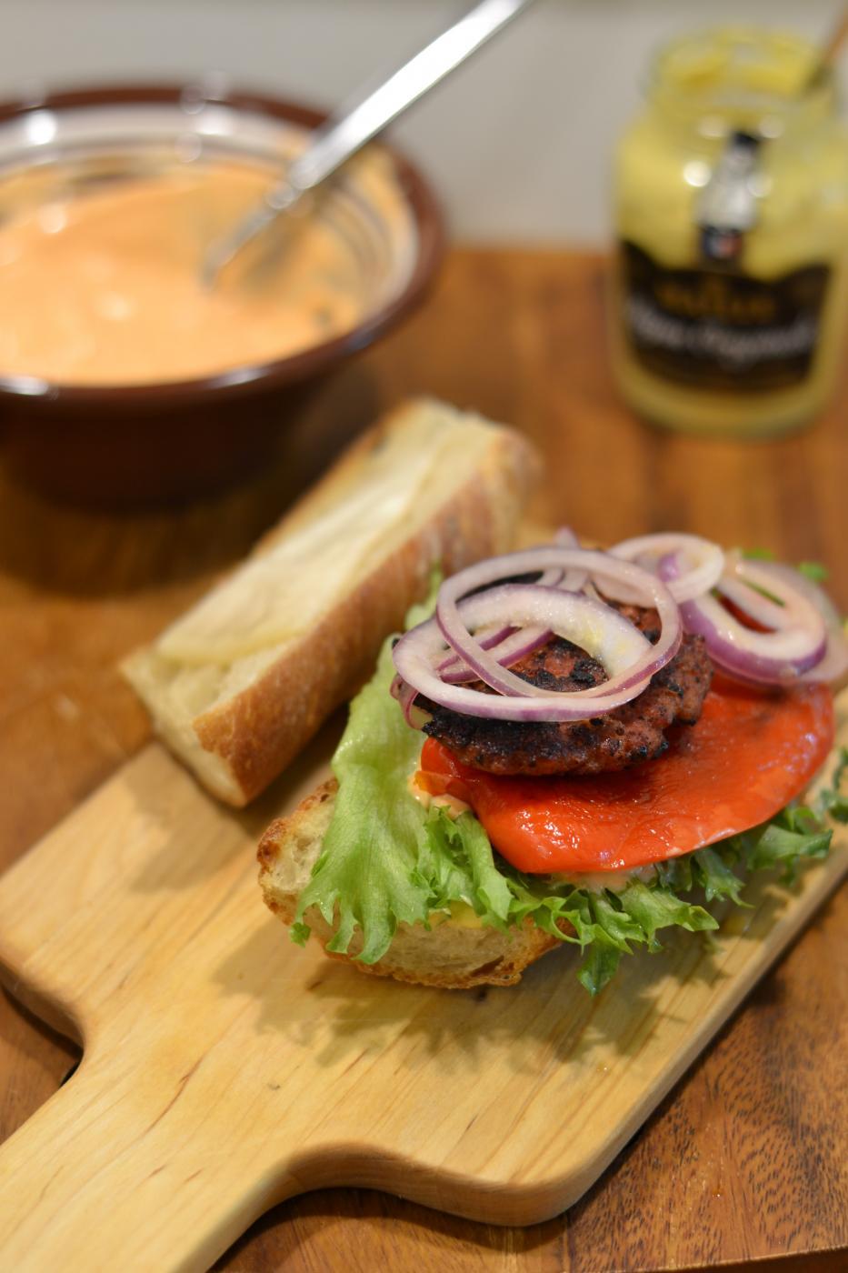Viikonlopun herkutteluun Chorizo-Burgerit