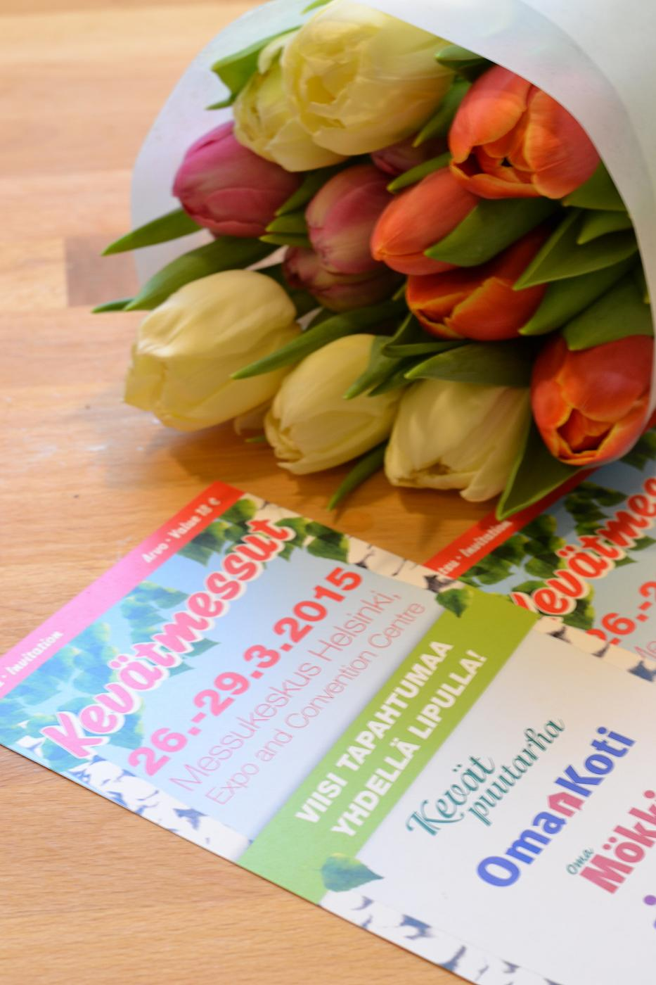 Sormet multaan ja lippujen arvonta Kevätmessuille 26-29.3.2015