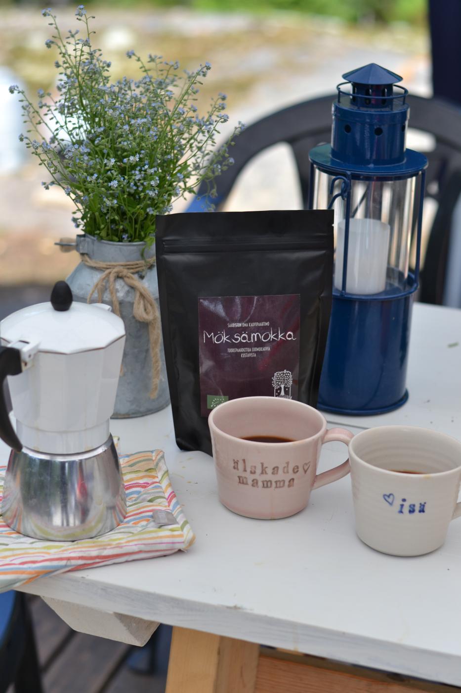 Kaupan hyllyjen helmet: Mokkapuun kahvit