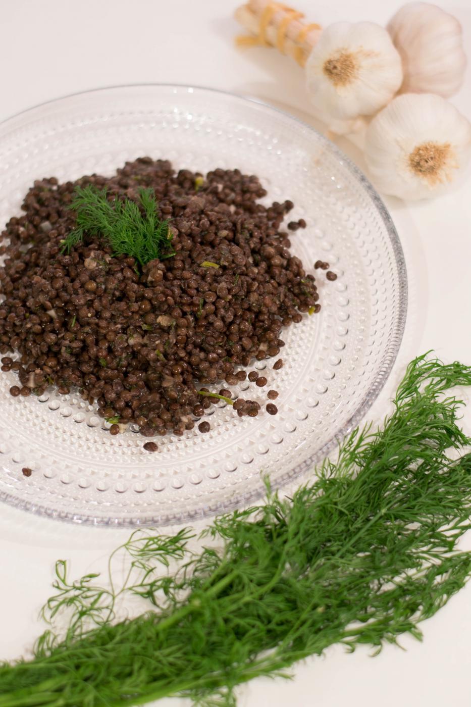 Marinoidut Belugalinssit