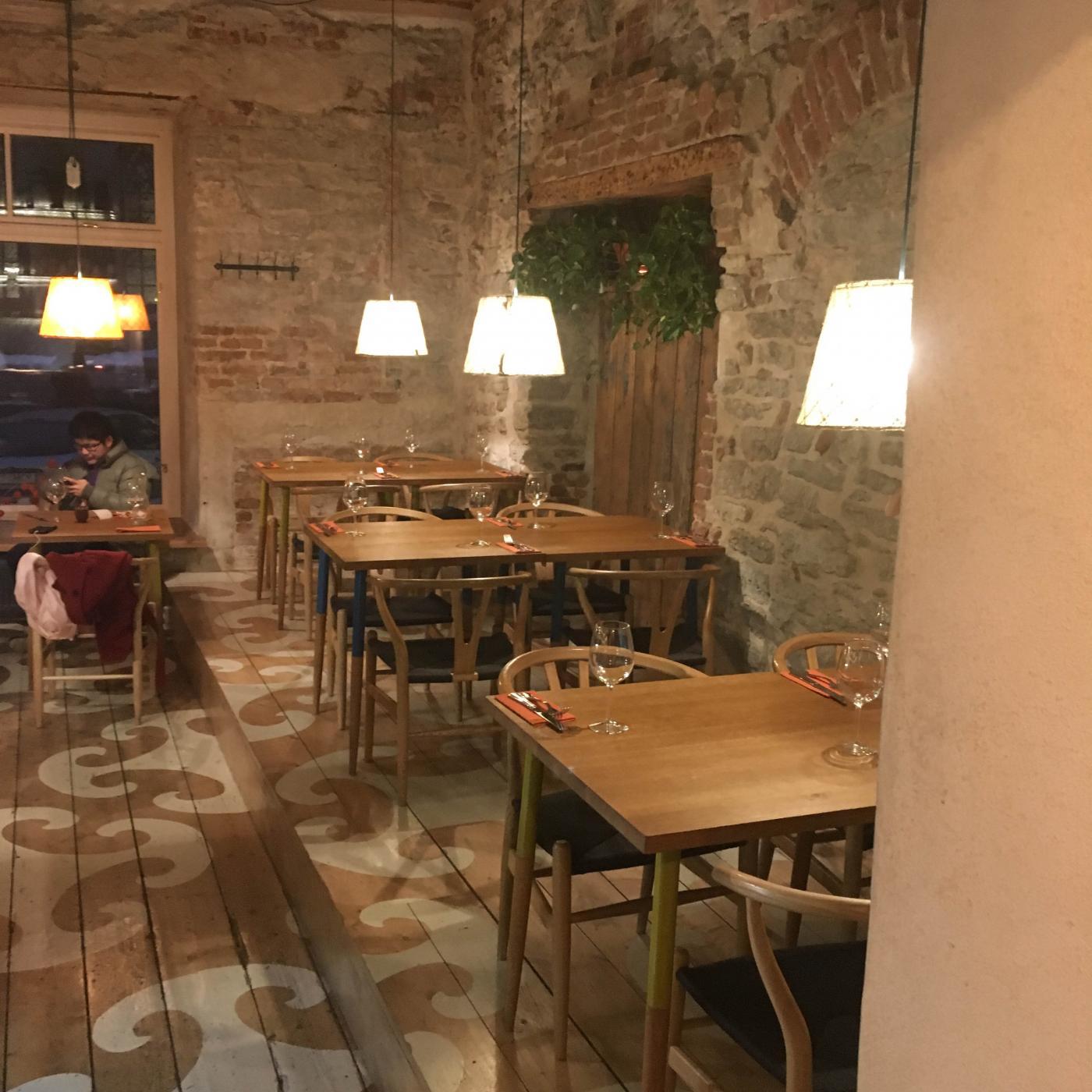 Uusi hyvä ravintola Tallinnassa = Väike
