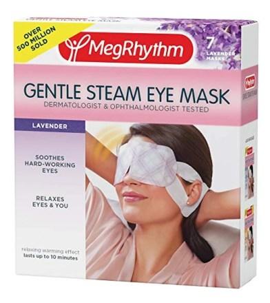 MegRhythm Gentle Steam Eye Mask - A-Lifestyle