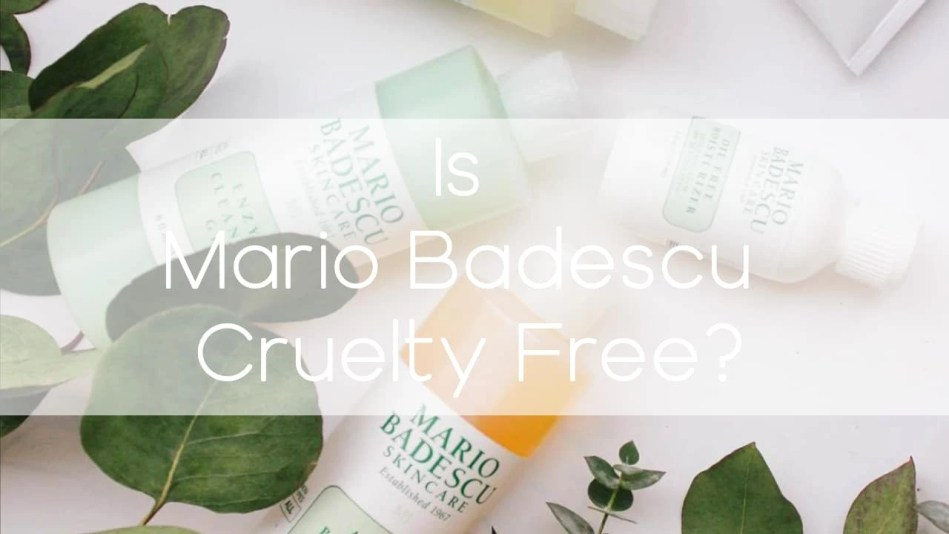 Is Mario Badescu cruelty-free? - A-Lifestyle