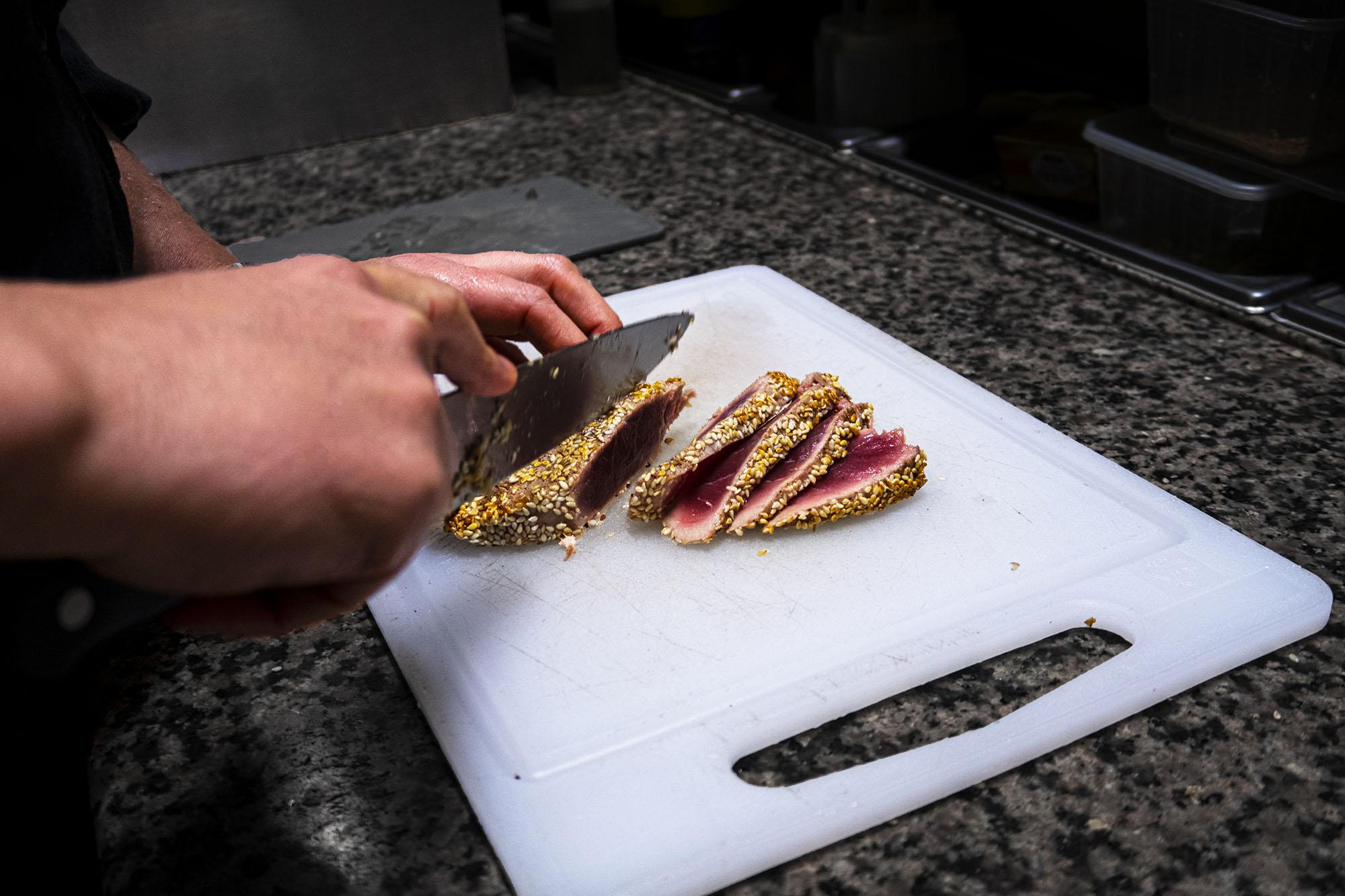Couteau - Restaurant A l'Improviste