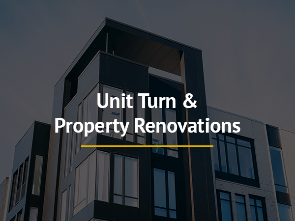 Unit Turn & Property Renovations