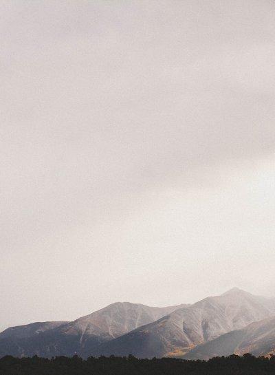Colorado | Foggy Mountains