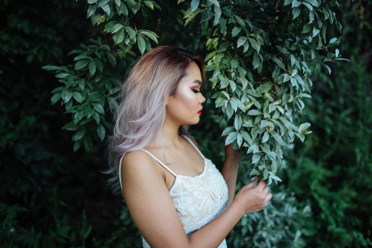 Kim | Black Pond, Middletown CT – White Dress(es)