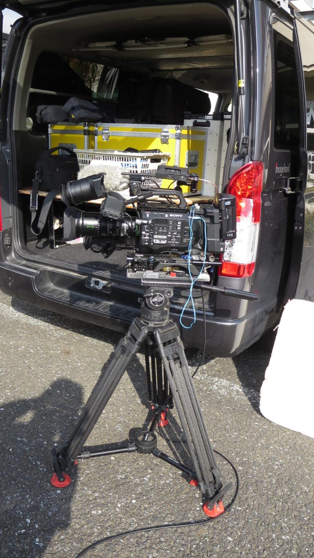 ソニーSF7・バラエティー番組のロケ・カメラ・再現ドラマ撮影・まるごと撮影で使える学校スタジオ・アトリエミカミ