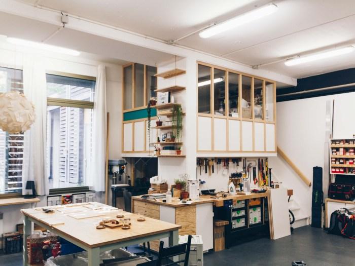 L'atelier de Dominique et Romain