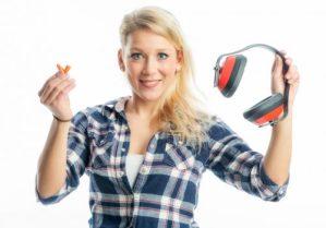 es wird leiser, Gehörschutz wird nicht mehr benötigt