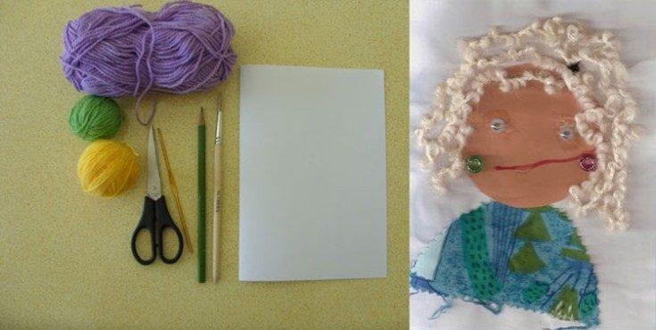 (+64 foto) Cartolina con le tue mani nonna di compleanno