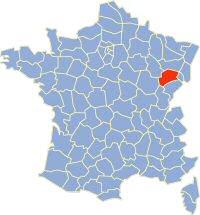 Kaart_Frankrijk_Departement_70