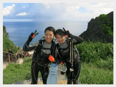 沖縄体験ダイビング|準備