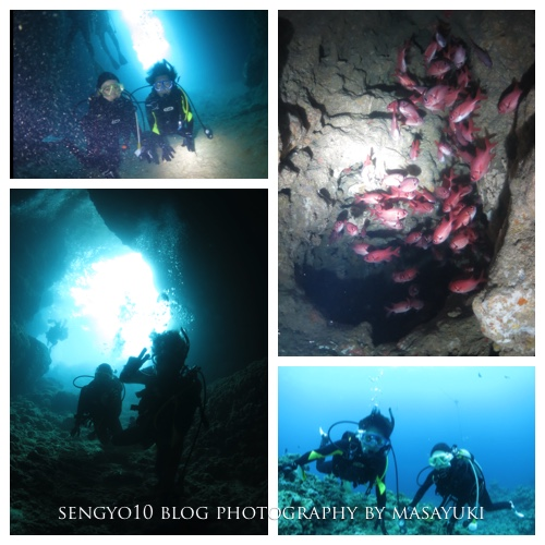 沖縄貸切ダイビング|ボート|青の洞窟