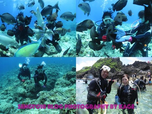 沖縄青の洞窟ダイビング Kさんチーム3