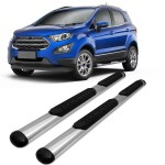Estribo Lateral Vf Ford Ecosport 2012 2013 2014 2015 2016 2017 2018 2019 Oblongo Oval Cromado Estribo Lateral Magazine Luiza