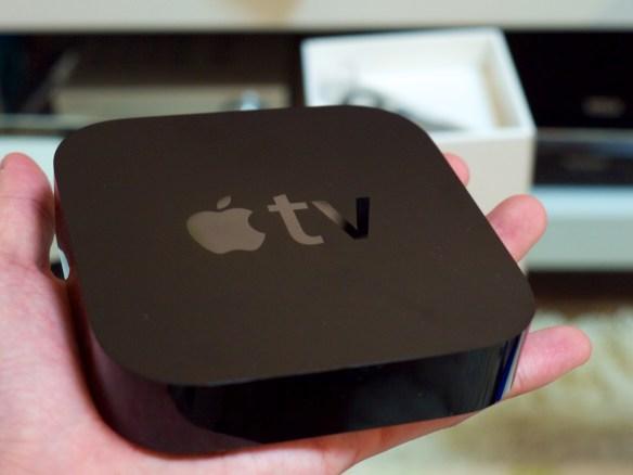 Apple TVを簡単セットアップ