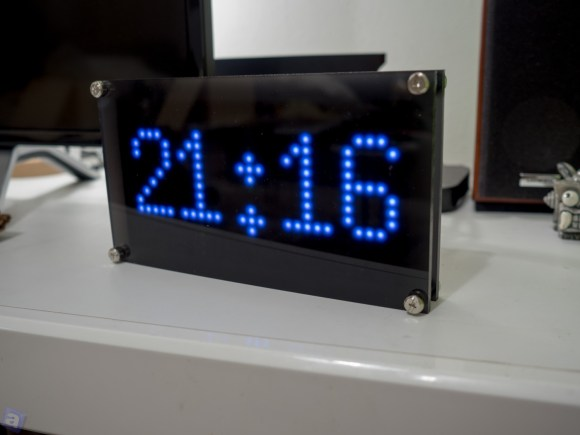 RaspberryPiで時計作った