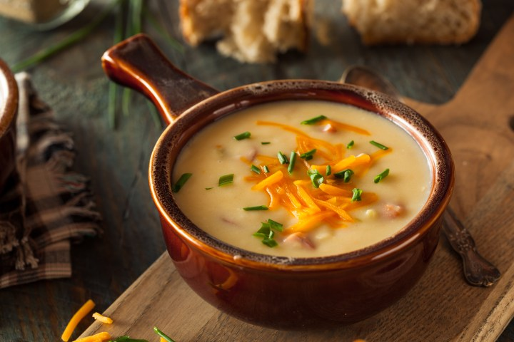 LG's Smoky Beer Cheese Soup