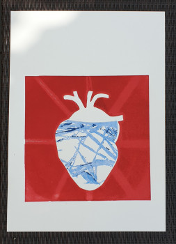 """Cold as ice"" - 50 x 65 - beschikbaar/available"