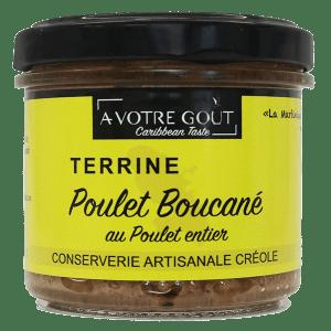 Terrine Poulet Boucané A VOTRE GOÛT Caribbean Taste
